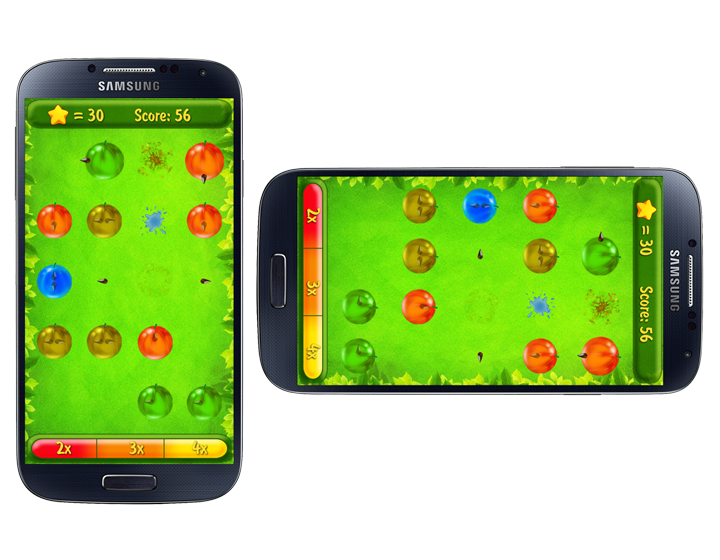 Arcade game Berry Boom! for Android