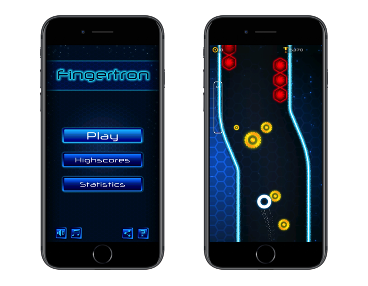 Fingertron Demon Racing for iOS