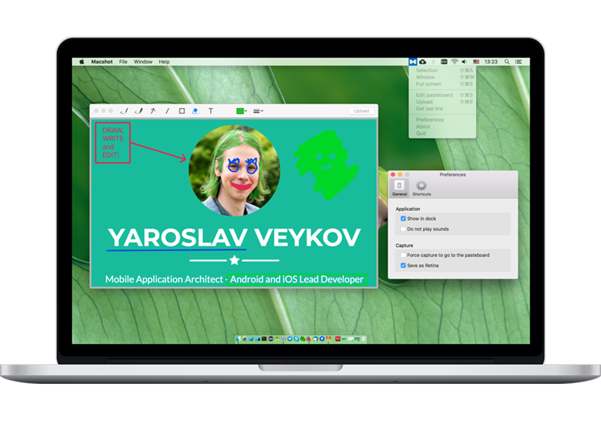 Screenshot Tool для macOS