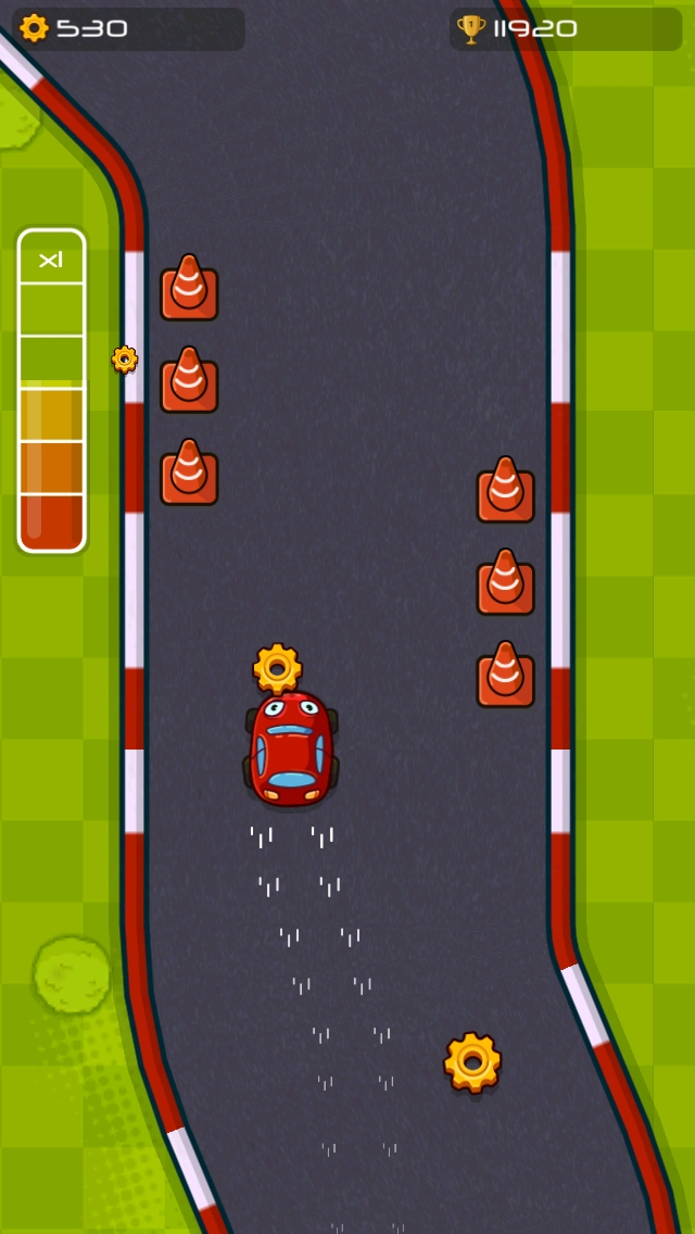 Turbofinger Arcade Racing for iOS